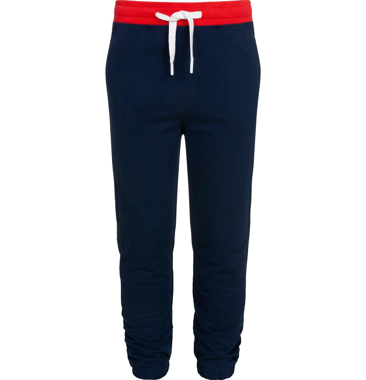 Endo - Spodnie dresowe dla chłopca, granatowe, 2-8 lat C05K021_3