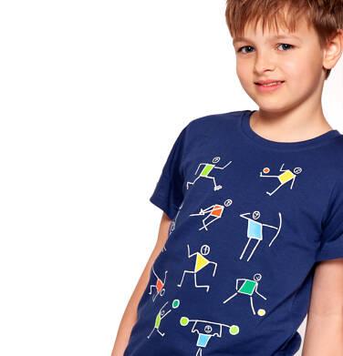 Endo - T-shirt z krótkim rękawem dla chłopca 3-8 lat C91G076_1