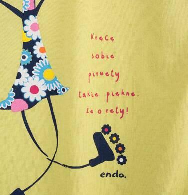 Endo - Sukienka trapezowa dla dziewczynki 4-8 lat D71H039_1