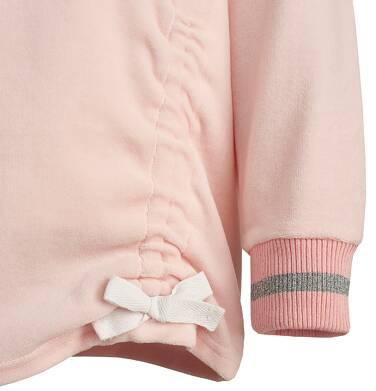 Endo - Welurowa bluza z kapturem  dla dziewczynki 3-8 lat D82C024_1