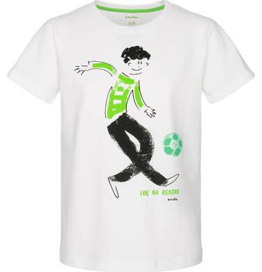 Endo - T-shirt z krótkim rękawem dla chłopca 3-8 lat C91G079_1