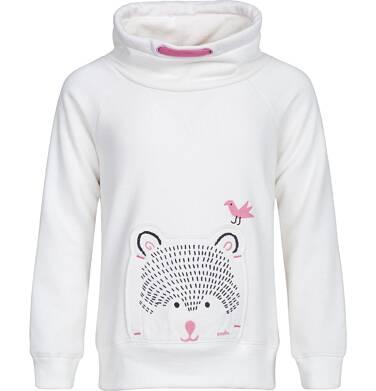 Bluza ze stójką dla dziewczynki 3-8 lat D82C029_1