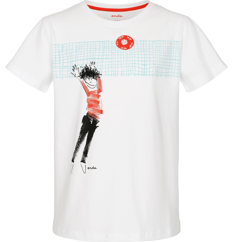 Endo - T-shirt z krótkim rękawem dla chłopca 3-8 lat C91G080_1