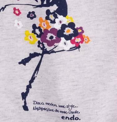 Endo - Sukienka trapezowa dla dziewczynki 4-8 lat D71H035_1
