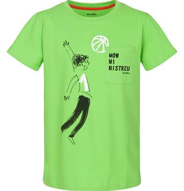 T-shirt z krótkim rękawem dla chłopca 3-8 lat C91G082_1