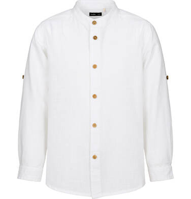 Koszula dla chłopca, z tygrysem, biała, 2-8 lat C03F012_1