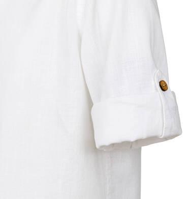 Endo - Koszula dla chłopca, z tygrysem, biała, 2-8 lat C03F012_1,2