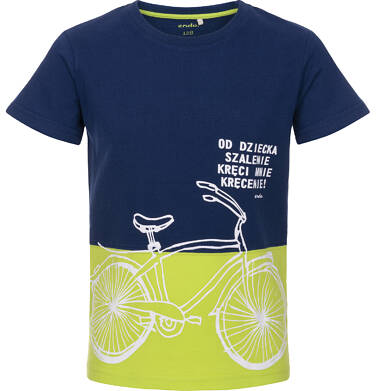 Endo - T-shirt z krótkim rękawem dla chłopca 3-8 lat C91G085_1