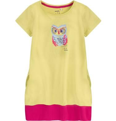 Endo - Sukienka trapezowa dla dziewczynki 4-8 lat D71H011_1