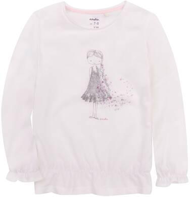Endo - Bufiasta bluzka dla dziewczynki 3-8 lat D72G059_1