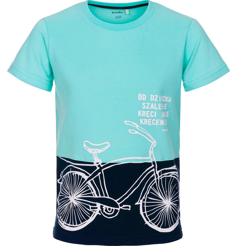 Endo - T-shirt z krótkim rękawem dla chłopca 3-8 lat C91G085_2