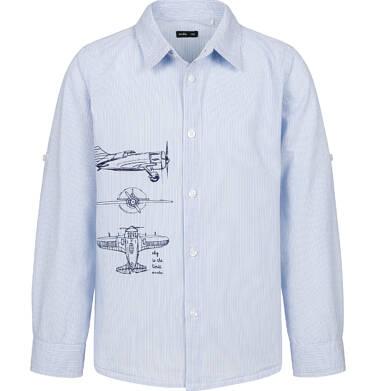 Endo - Koszula dla chłopca, z samolotem, niebieska, 2-8 lat C03F013_1 11