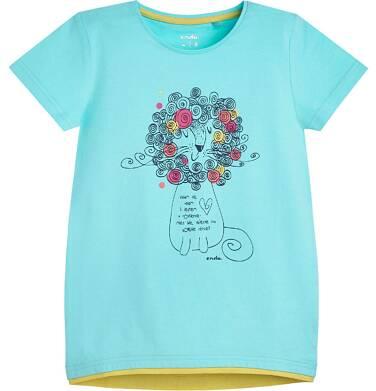Endo - Tunika z krótkim rękawem dla dziewczynki 3-8 lat D81G098_1