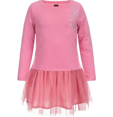 Endo - Sukienka z długim rękawem dla dziewczynki 3-8 lat D82H045_1