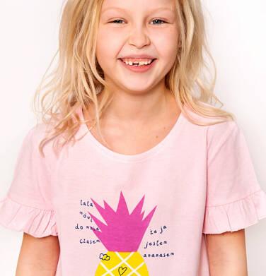 Endo - T-shirt z krótkim rękawem dla dziewczynki 3-8 lat D91G015_1