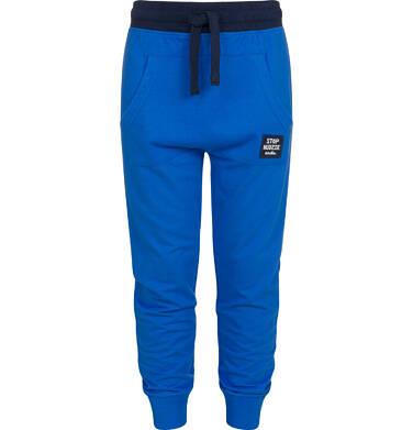 Endo - Spodnie dresowe dla chłopca, niebieskie, 9-13 lat C04K009_1 8