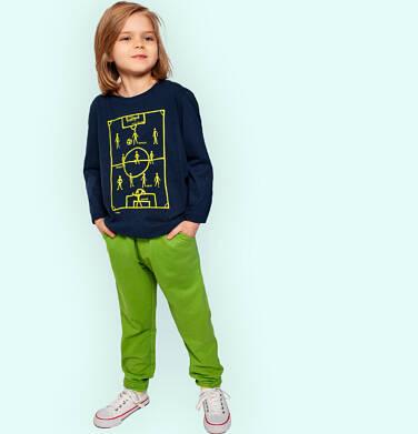 Endo - Spodnie dresowe dla chłopca, zielone, 2-8 lat C05K021_4 27