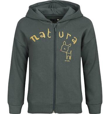 """Endo - """"Natura"""" Bluza z kapturem rozpinana dla dziewczynki 9-13 lat D82C530_1"""