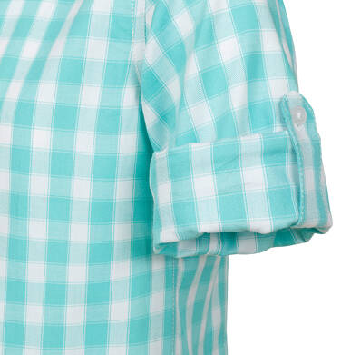 Endo - Koszula dla chłopca, w biało - niebieską kratę, 9-13 lat C03F514_1 186