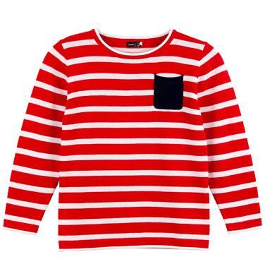 Endo - Sweter w paski dla chłopca C61B008_2