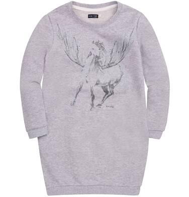 Endo - Sukienka o charakterze bluzy dla dziewczynki 3-8 lat D72H015_1