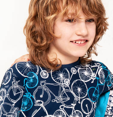 Endo - T-shirt z krótkim rękawem dla chłopca 3-8 lat C91G124_1