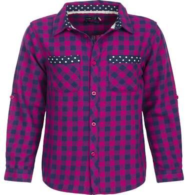 Koszula flanelowa z długim rekawem dla dziewczynki 3-8 lat D82F008_1