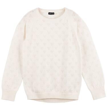 Endo - Ażurowy sweter dla dziewczynki D61B003_1
