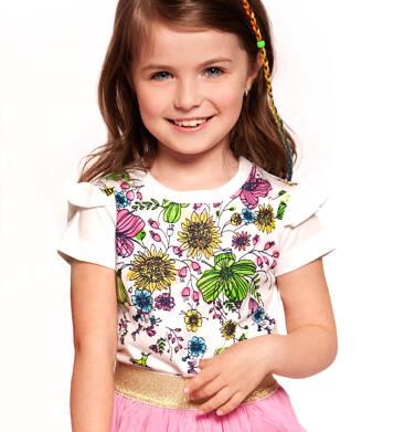Endo - Bluzka z krótkim rękawem dla dziewczynki 3-8 lat D91G079_1