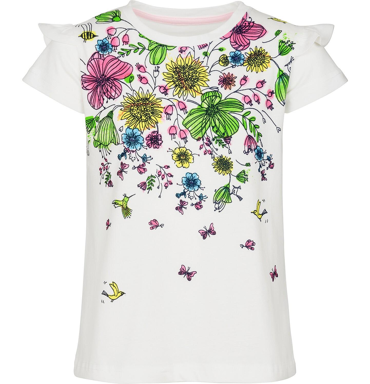 Endo - Bluzka z krótkim rękawem dla dziewczynki 9-13 lat D91G579_1