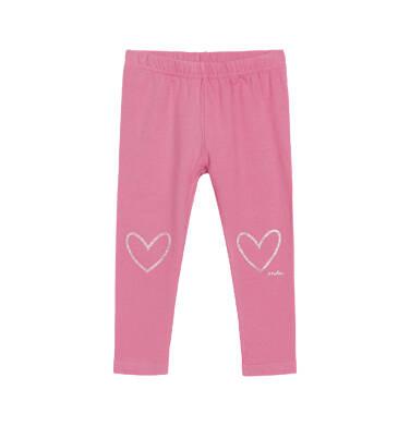 Endo - Legginsy dla dziecka do 3 lat, różowe N92K029_1