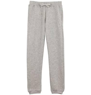 Endo - Melanżowe spodnie dresowe dla dziewczynki D61K012_1