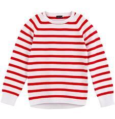 Endo - Sweter w paski dla dziewczynki D61B005_2