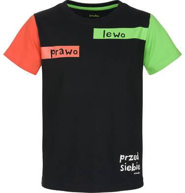 T-shirt z krótkim rękawem dla chłopca 3-8 lat C91G129_1