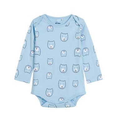 Endo - Body niemowlęce z długim rękawem N92M015_1