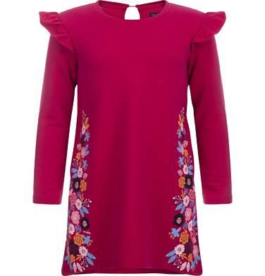 Endo - Sukienka z długim rękawem dla dziewczynki 9-13 lat D82H534_1