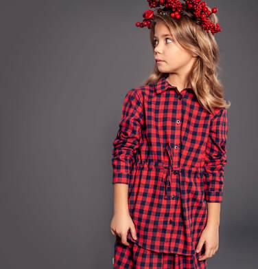 Endo - Tunika flanelowa z długim rękawem dla dziewczynki 9-13 lat D82F511_1