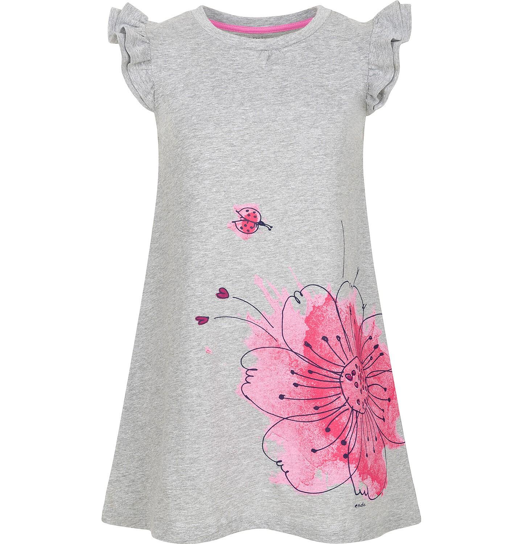 Endo - Sukienka z krótkim rękawem dla dziewczynki 3-8 lat D91H041_1