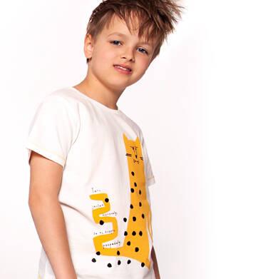 Endo - T-shirt z krótkim rękawem dla chłopca 3-8 lat C91G137_2