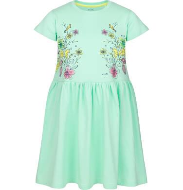 Sukienka z krótkim rękawem dla dziewczynki 3-8 lat D91H042_1
