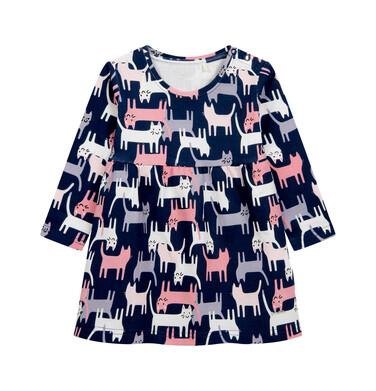 Endo - Sukienka dla dziecka do 2lat, deseń w koty N04H002_1 29
