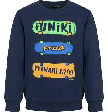 Endo - Bluza dla chłopca, granatowa, 9-13 lat C03C533_1,1