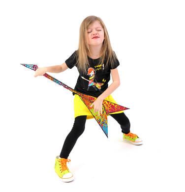 Endo - Spódniczka bombka z kieszenią dla dziewczynki 4-8 lat D71J001_2