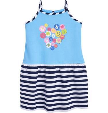 Endo - Sukienka na ramiączkach dla dziewczynki 3-8 lat D81H004_1