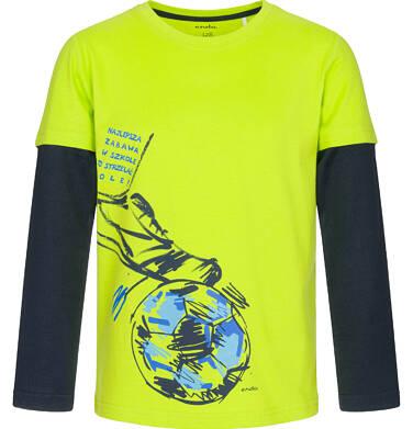 Endo - T-shirt z długim rękawem dla chłopca 3-8 lat C92G027_1