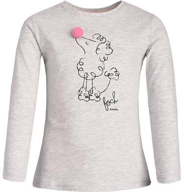 Endo - T-shirt z długim rękawem dla dziewczynki 3-8 lat D82G017_1