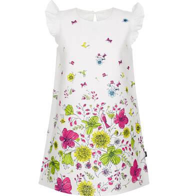 Sukienka z krótkim rękawem dla dziewczynki 9-13 lat D91H558_1