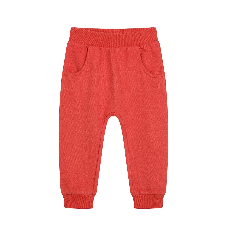 Endo - Spodnie dresowe dla dziecka do 2 lat, pomarańczowe N04K019_1