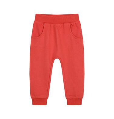 Endo - Spodnie dresowe dla dziecka do 2 lat, pomarańczowe N04K019_1 9