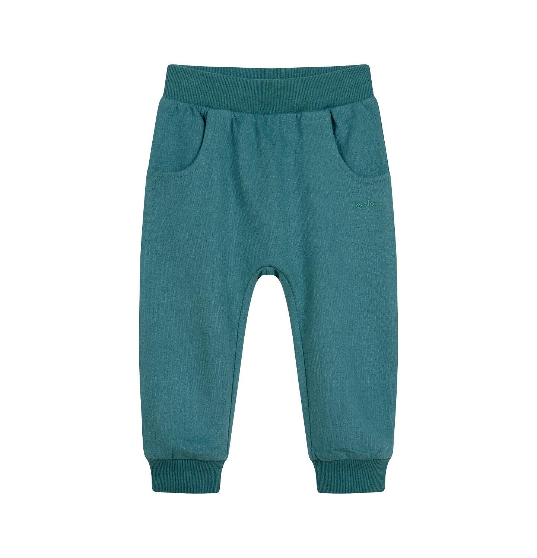 Endo - Spodnie dresowe dla dziecka do 2 lat, szare N04K019_2